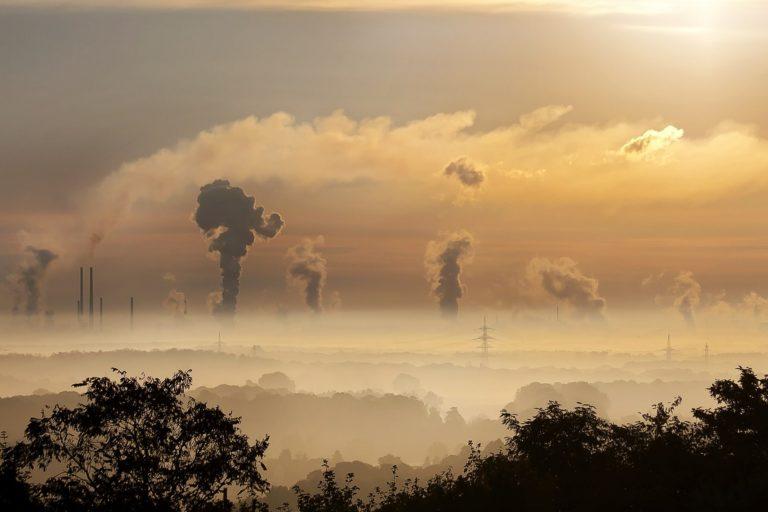 Wpływ smogu na wzrok